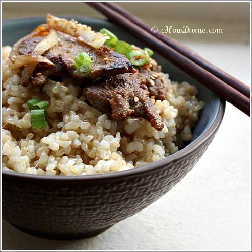 Bulgogi (Korean Beef Barbecue) - cHow Divine...cHow Divine…