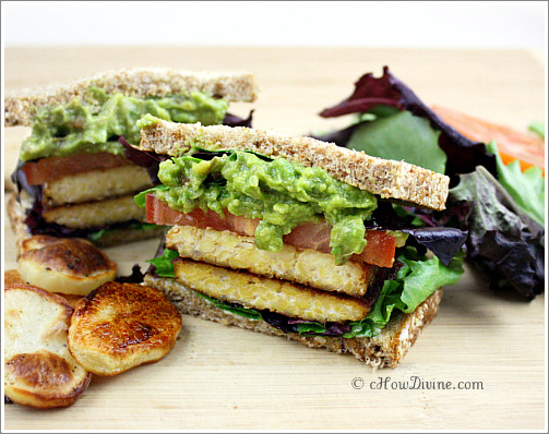 TLT - Tempeh, Lettuce, and Tomato Sandwich - cHow Divine...cHow Divine ...