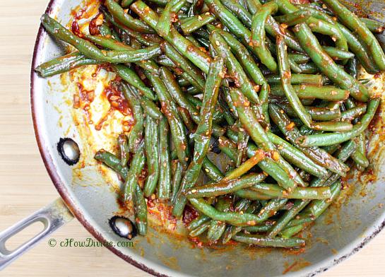Sauteed green bean recipes easy