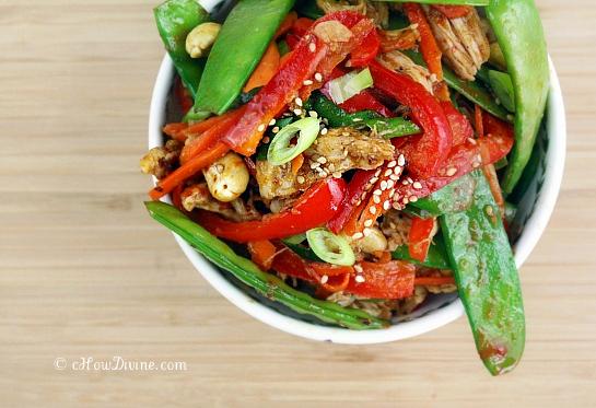 Cashew Chicken with Thai Chili Plum SaucecHow Divine cHow Divine…