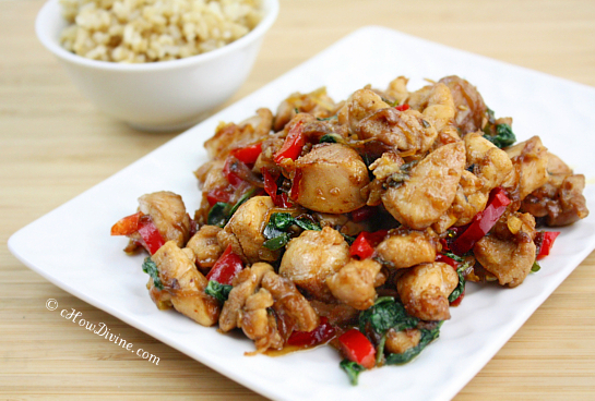 Thai Basil Chicken | International Food Recipes
