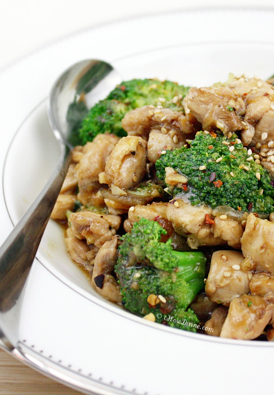 Healthier Chicken and Broccoli | cHowDivine.com