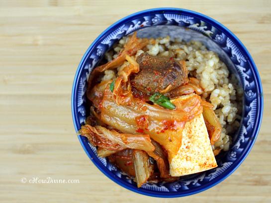 Easy Kimchi Jjigae (Korean Kimchi Stew)