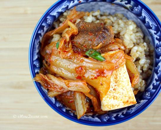 Easy Peasy Kimchi Jjigae (Kimchi Stew) - cHow Divine...cHow Divine…