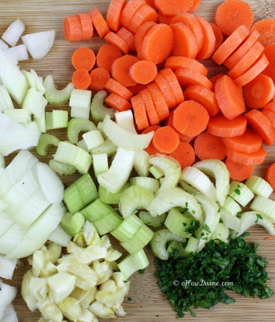 Vegetables Prepped
