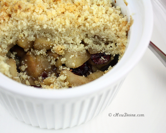 Gluten-Free Apple Crumble | cHow Divine
