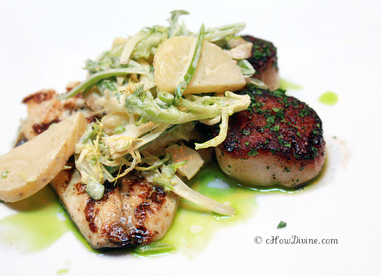 Barramundi and Scallops | cHowDivine.com