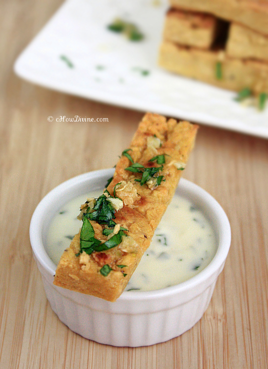Chickpea Fries | cHowDivine.com