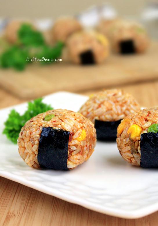 Kimchi Rice Ball | cHowDivine.com