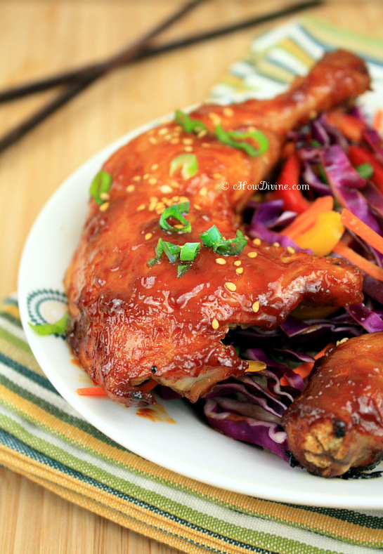 Korean Sticky, Sweet, and Spicy Chicken Legs - cHow Divine...cHow ...