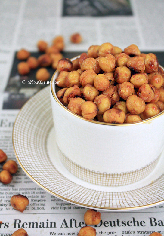 Roasted Chickpeas | cHowDivine.com