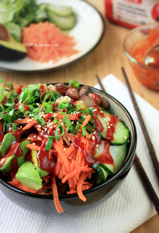 Easy Vegetable Bibimbap | cHowDivine.com