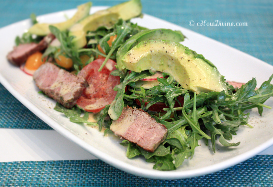 Steak Salad_MOMA | cHowDivine.com