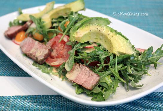 Steak Salad_MOMA | cHowDivine.com