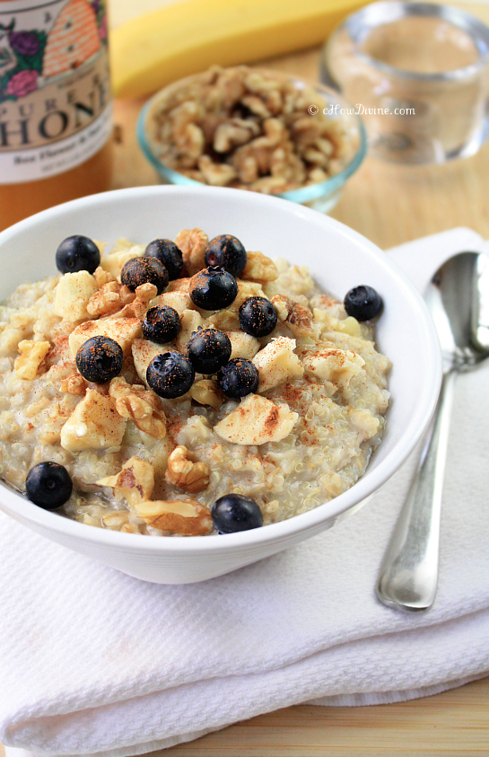 Quinoa + Oatmeal = Quinoatmeal | cHowDivine.com