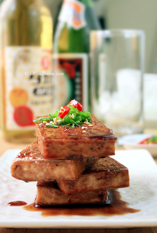 Seared Tofu with Soy-Maple Sauce | cHowDivine.com