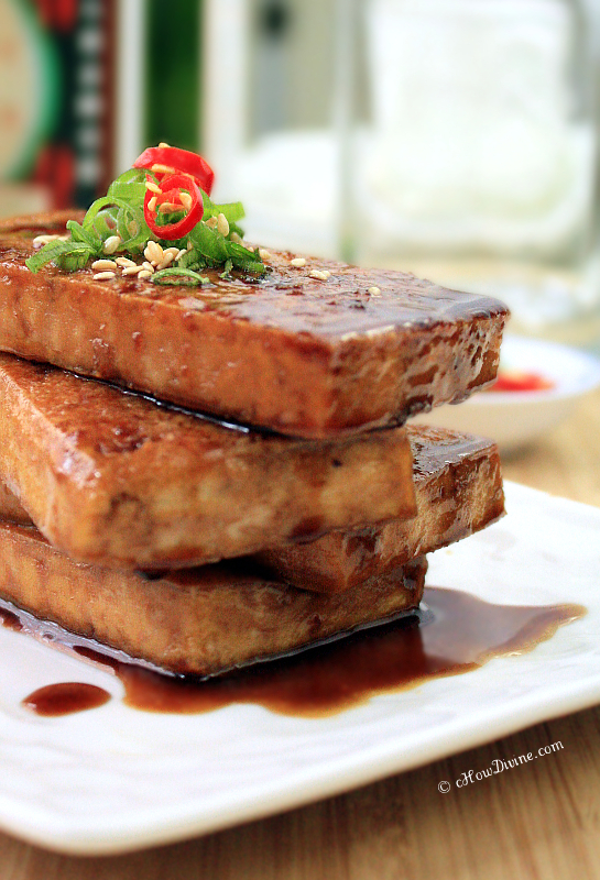 Tofu with Soy-Maple Sauce | cHowDivine.com