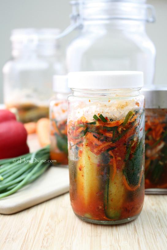 Easy Cucumber Kimchi | cHowDivine.com